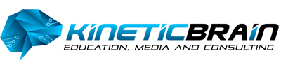 Kinetic Brain Media Logo